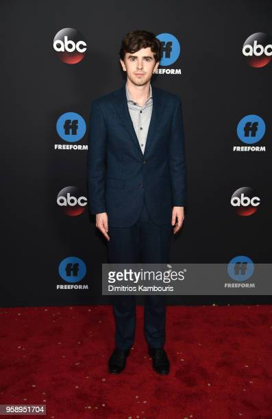 Actor Freddie Highmore attends during 2018 Disney ABC Freeform Upfront at Tavern On The Green on May 15 2018 in New York City