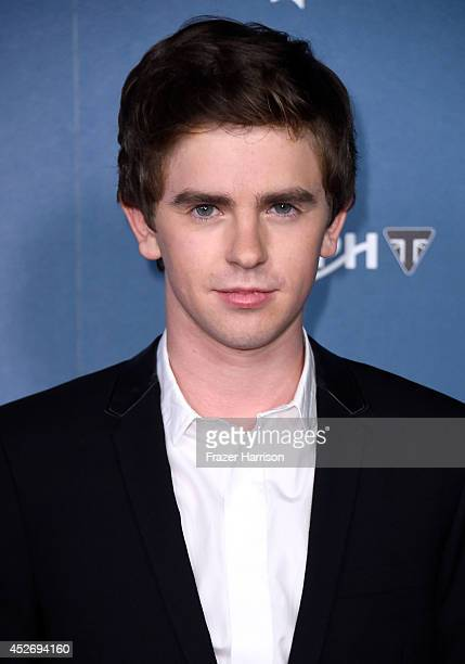 Actor Freddie Highmore attends Playboy and AE Bates Motel Event during ComicCon International 2014 on July 25 2014 in San Diego California