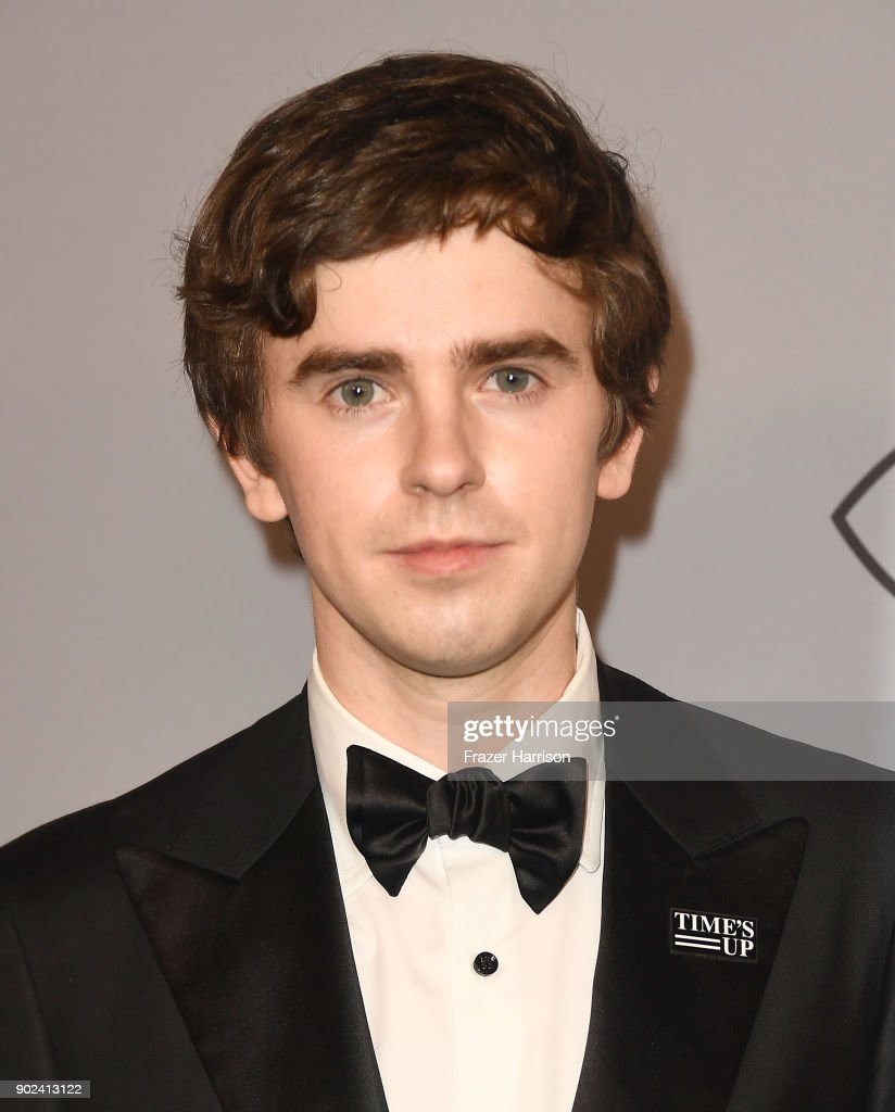 Actor Freddie Highmore attends the 19th Annual Post-Golden Globes Party hosted by Warner Bros. Pictures and InStyle at The Beverly Hilton Hotel on January 7, 2018 in Beverly Hills, California.