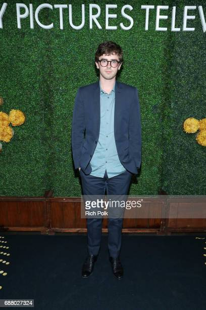 Actor Freddie Highmore attends the Sony Pictures Television LA Screenings Party at Catch LA on May 24 2017 in Los Angeles California