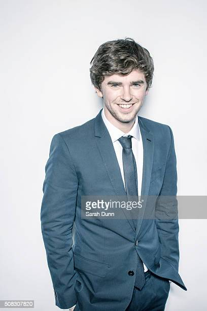 Actor Freddie Highmore is photographed for Empire magazine on March 29 2015 in London England