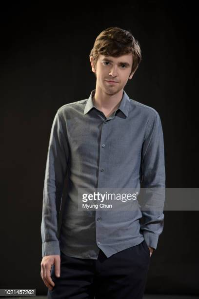 Actor Freddie Highmore is photographed for Los Angeles Times on April 18 2018 in Los Angeles California PUBLISHED IMAGE CREDIT MUST READ Myung J...
