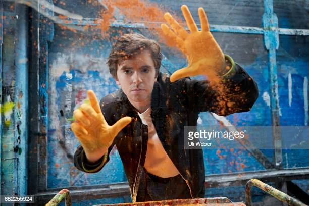 Actor Freddie Highmore is photographed for Style magazine on February 16 2017 in London England