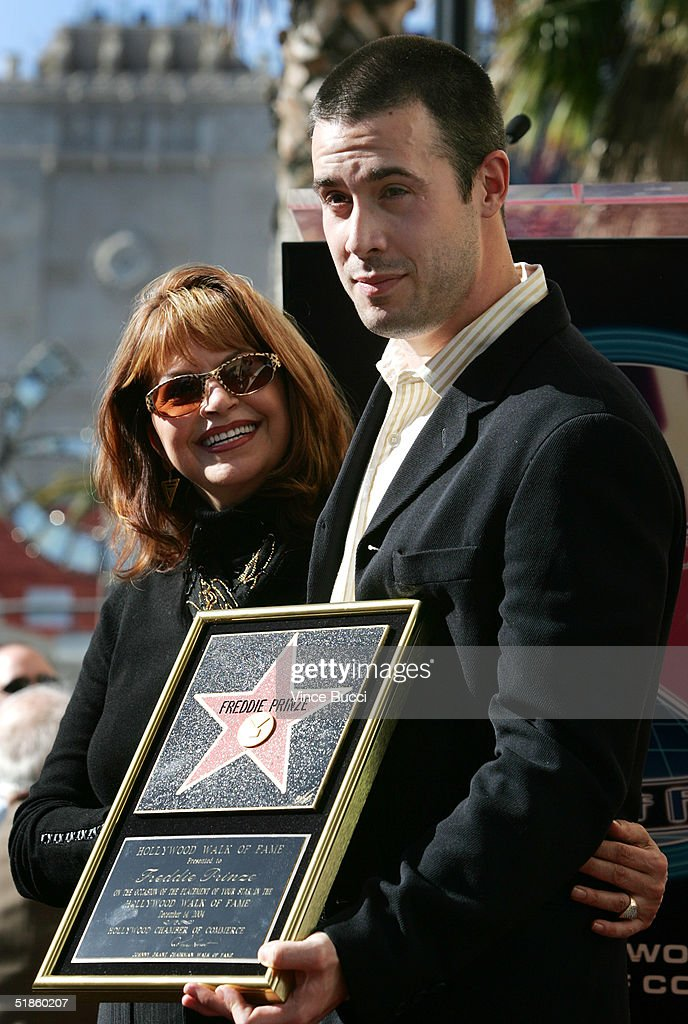 Freddie Prinze Receives A Star On The Hollywood Walk Of Fame : News Photo