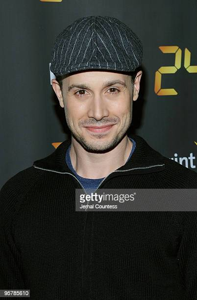 Actor Freddie Prinze Jr attends the season premiere for the eighth season of the television series 24 at Jack H Skirball Center for the Performing...