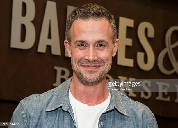 Actor Freddie Prinze Jr signs his new book Back To The Kitchen at Barnes Noble at The Grove on June 9 2016 in Los Angeles California