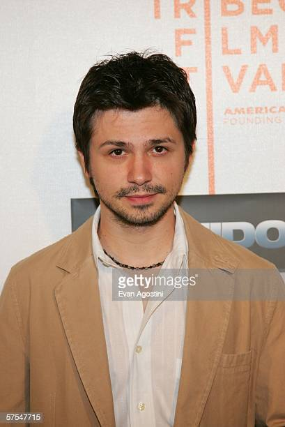 """Actor Freddie Rodriguez attends the """"Poseidon"""" premiere at the Tribeca Performing Arts Center May 6, 2006 in New York City."""