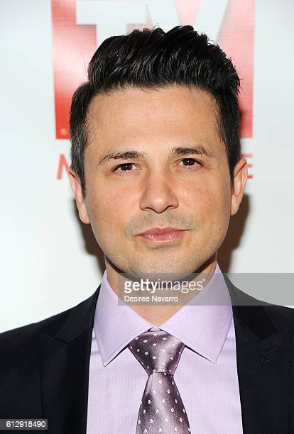Actor Freddie Rodriguez attends TV Guide Magazine Celebrates CBS' Michael Weatherly at HGU New York on October 5 2016 in New York City
