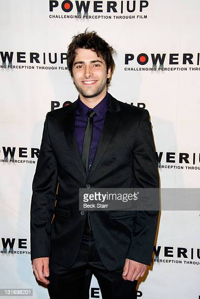 Actor Freddie Smith arrives at POWER UP Annual Power Premiere Awards 2011 at Eden on November 6 2011 in Hollywood California