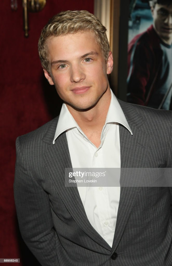 Actor Freddie Stroma attends the 'Harry Potter and the Half-Blood Prince' premiere at Ziegfeld Theatre on July 9, 2009 in New York City.