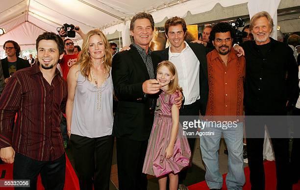 Actor Freddy Rodriguez actress Elisabeth Shueactor Kurt Russell actress Dakota Fanning director John Gatins actor Luis Guzman and actor Kris...