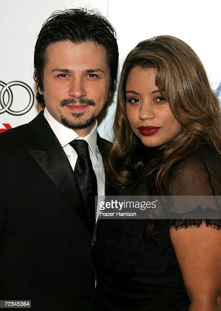 Actor Freddy Rodriguez and wife Elsie Rodriguez arrive at the AFI FEST presented by Audi opening night gala of Bobby at the Grauman's Chinese Theatre...