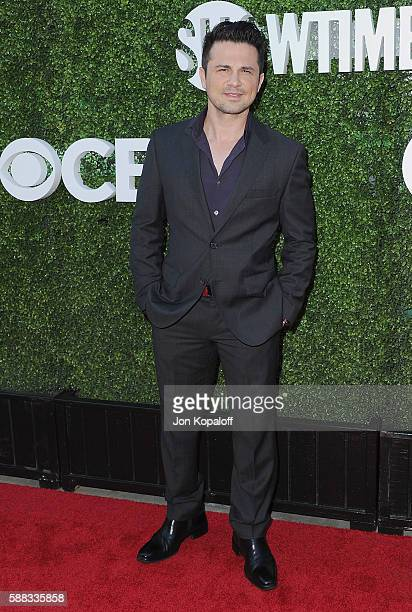 Actor Freddy Rodriguez arrives at CBS CW Showtime Summer TCA Party at Pacific Design Center on August 10 2016 in West Hollywood California