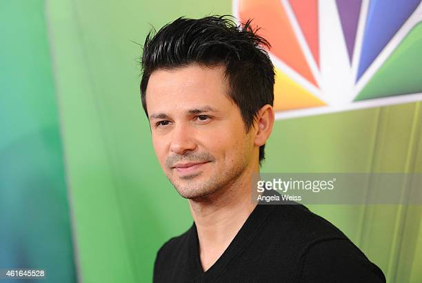 Actor Freddy Rodriguez arrives at NBCUniversal's 2015 Winter TCA Tour Day 2 at The Langham Huntington Hotel and Spa on January 16 2015 in Pasadena...
