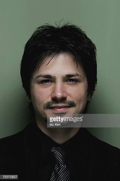 Actor Freddy Rodriguez arrives at the UK Premiere of Bobby during The Times BFI 50th London Film Festival at the Odeon West End on October 26 2006 in...