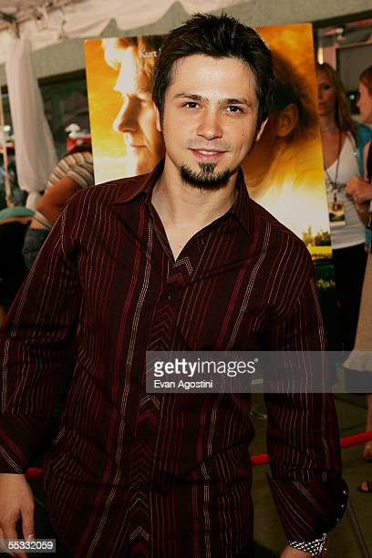 Actor Freddy Rodriguez attends the DreamWorks premiere of Dreamer Inspired By A True Story at Roy Thompson Hall during the 2005 Toronto International...