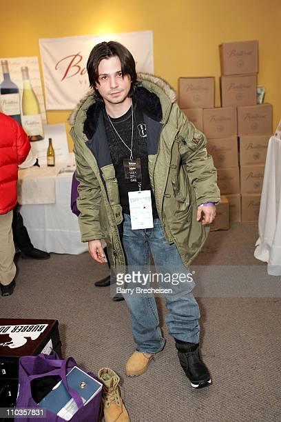 Actor Freddy Rodriguez attends the Kari Feinstein Style Lounge at Rubber Duck on January 18 2008 in Park City Utah