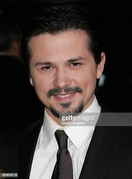 Actor Freddy Rodriguez attends the premiere of Overture Films' Nothing Like The Holidays at Grauman's Chinese Theatre on December 3 2008 in Hollywood...