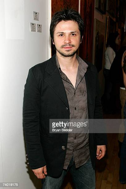 Actor Freddy Rodriguez attends the TAA party at the New York Academy of Art during the 2007 Tribeca Film Festival on April 28 2007 in New York City