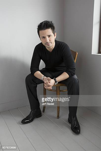 Actor Freddy Rodriguez is photographed for TV Guide Magazine on January 16 2015 in Pasadena California