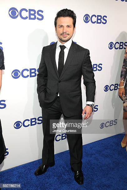 Actor Freddy Rodriguez of Bull attends the 2016 CBS Upfront at The Plaza on May 18 2016 in New York City