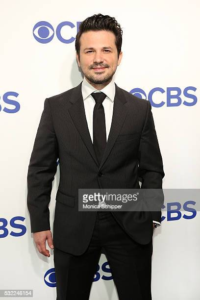 Actor Freddy Rodriguez of CBS television series 'Bull' attends the 2016 CBS Upfront at Oak Room on May 18 2016 in New York City