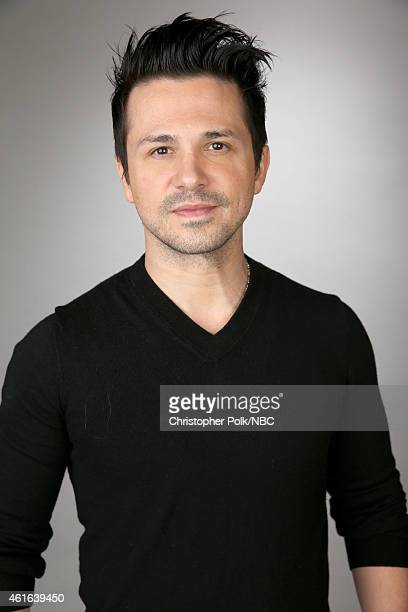 Actor Freddy Rodriguez of The Night Shift poses for a portrait during the NBCUniversal TCA Press Tour at The Langham Huntington Pasadena on January...