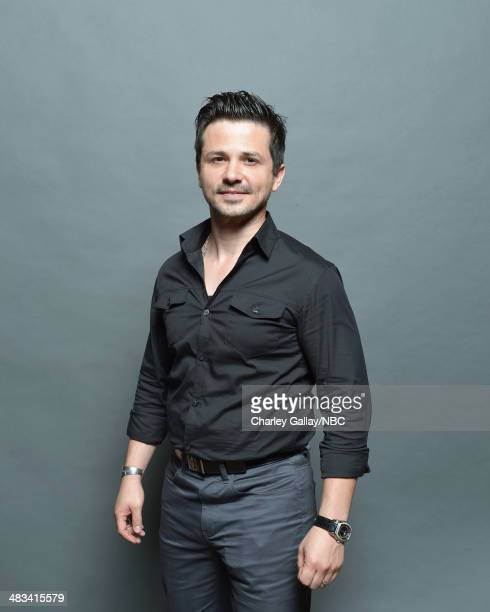 Actor Freddy Rodriguez poses for a portrait during the 2014 NBCUniversal Summer Press Day at The Langham Huntington on April 8 2014 in Pasadena...