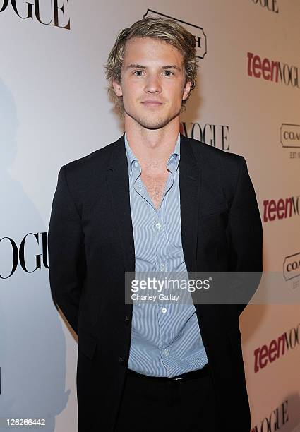 Actor Freddy Stroma attends the Ninth Annual Teen Vogue Young Hollywood Party at Paramount Studios on September 23 2011 in Hollywood California