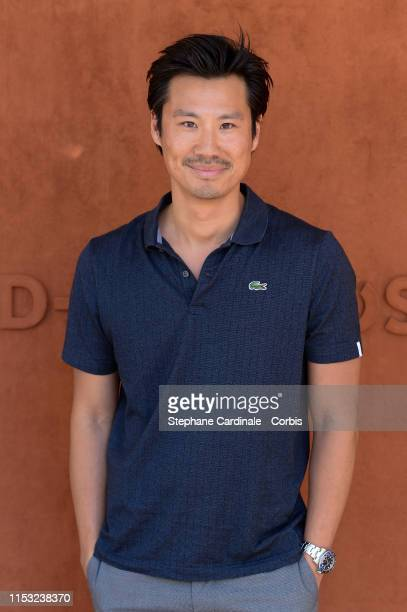 Actor Frederic Chau attends the 2019 French Tennis Open Day Eight at Roland Garros on June 02 2019 in Paris France
