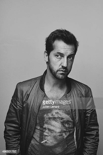Actor Frederic Diefenthal is photographed for Self Assignment on October 5 2015 in Namur Belgium