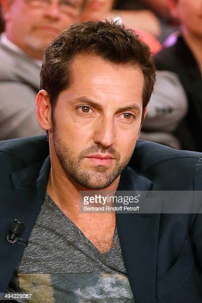 """Actor Frederic Diefenthal presents the theater play """"Je prefere qu'on reste amis"""" at the 'Vivement Dimanche' French TV Show at Pavillon Gabriel on..."""