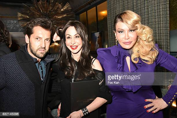 Actor Frederic Diefenthal Stefanie Renoma and Allanah Starr attend the Stefanie Renoma Book Launch Party Hosted by Normal Magazine at Hotel Nolinski...