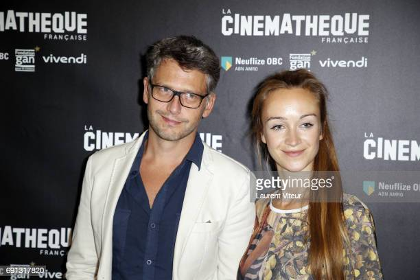 Actor Frederic Gorny and Actress Daria Panchenko attend John Boorman's Retrospective at Cinematheque Francaise on June 1, 2017 in Paris, France.