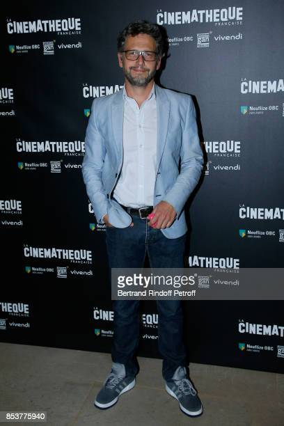 Actor Frederic Gorny attends the 'Un beau soleil interieur' Paris Premiere at La Cinematheque on September 25 2017 in Paris France