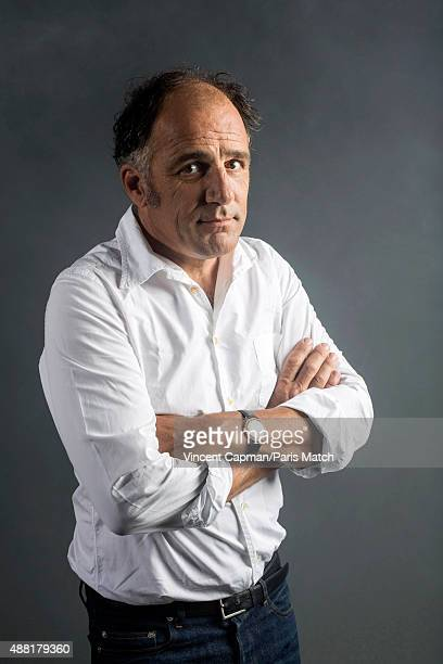 Actor Frederic Pierrot is photographed for Paris Match on August 31, 2015 in Paris, France.