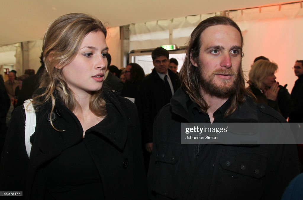 Actor Frederick Mayet (performing Jesus Christ) and his girlfriend arrive for the reception of the Bavarian state governement after the first half of the premiere of the Passionplay 2010 on May 15, 2010 in Oberammergau, Germany. The Passionplay will be held until October 3, 2010 five times a week, it is held every ten years since 1633, when the inhabitants of Oberammergau were threatened by disease and promised to stage the play if they survived.