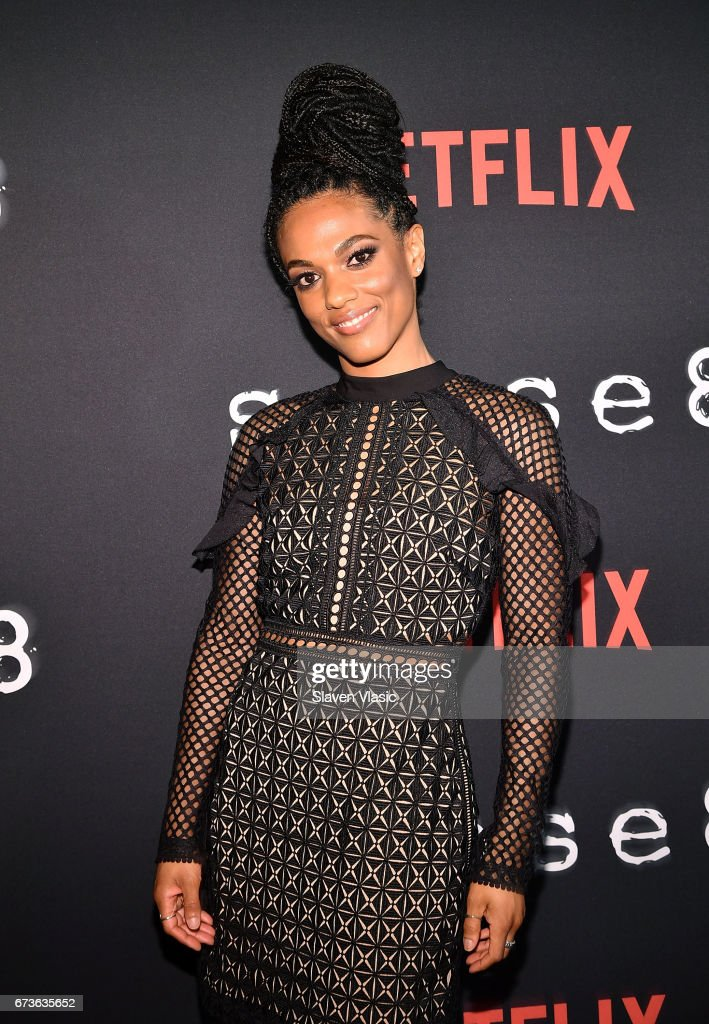 Actor FreemaAgyeman attends 'Sense8' New York Premiere at AMC Lincoln Square Theater on April 26, 2017 in New York City.