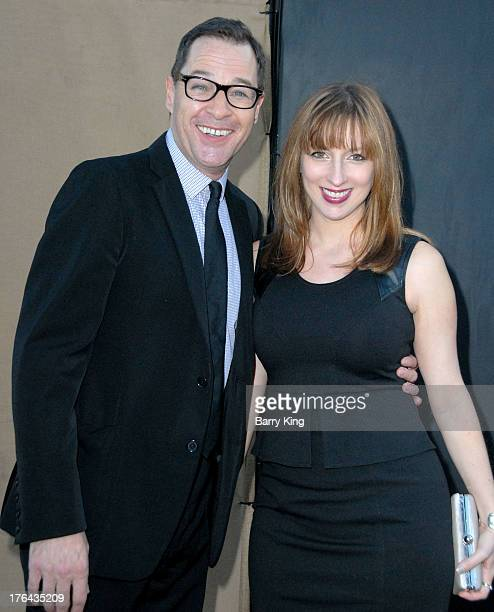 Actor French Stewart and wife actress Vanessa Claire Smith arrive at the 2013 Television Critic Association's Summer Press Tour CBS The CW Showtime...