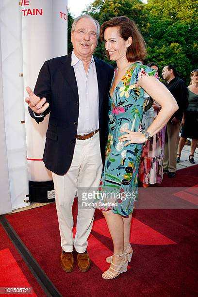 Actor Friedrich von Thun and daughter Gioia von Thun attend the 'Movie Meets Media' party during the Munich Film Festival at P1 Club on June 28, 2010...