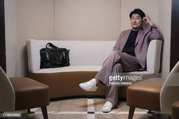 Actor from 'Parasite' Song Kangho poses for a portrait on May 20 2019 in Cannes France