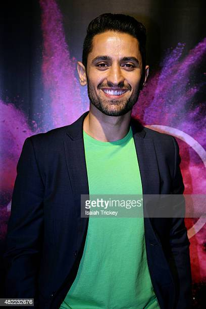 Actor from the film 'BeeBa Boys' Ali Momen attends the 2015 Toronto International Film Festival Press Conference at TIFF Bell Lightbox on July 28,...