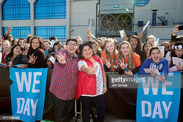 Actor from the hit television series Modern Family Rico Rodriguez and his sister singer and actress on Disney¨ Channel`s Austin Ally Raini Rodriguez...