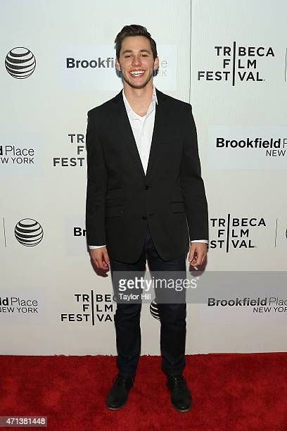 """Actor Gabe Gibbs attends the world premiere of """"Tumbledown"""" during the 2015 Tribeca Film Festival at BMCC Tribeca PAC on April 18, 2015 in New York..."""