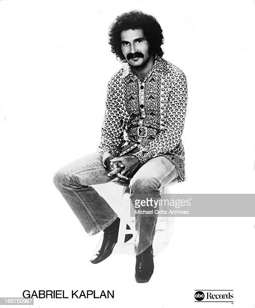 Actor Gabe Kaplan poses for a portrait in circa 1976