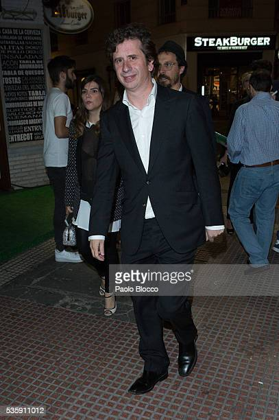 Actor Gabino Diego is seen arriving to 'Nuestros Amantes' premiere at Palafox Cinema on May 30 2016 in Madrid Spain