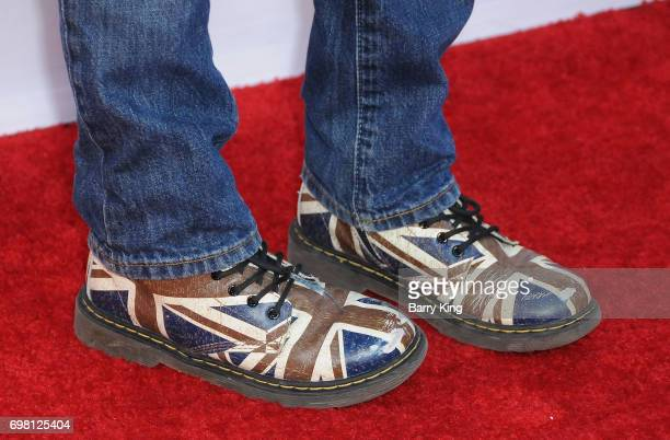 Actor Gabriel Bateman shoe detail attends the 2017 Los Angeles Film Festival Premiere of Warner Brothers Pictures' 'Annabelle Creation' at The...