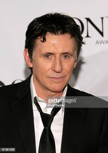 Actor Gabriel Byrne arrives at the 62nd Annual Tony Awards held at Radio City Music Hall on June 15 2008 in New York City