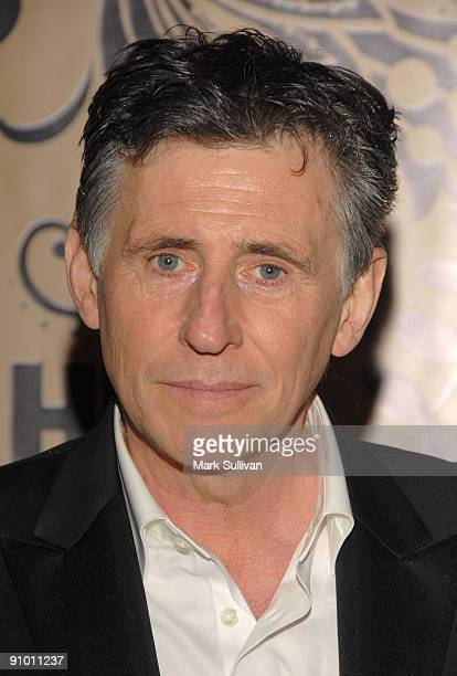 Actor Gabriel Byrne arrives at the HBO Post Emmy Awards Reception at the Pacific Design Center on September 20 2009 in West Hollywood California