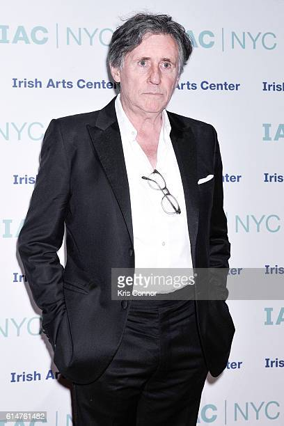 Actor Gabriel Byrne attends the '2016 Spirit Of Ireland' gala hosted by the Irish Arts Center at Cipriani 42nd Street on October 14 2016 in New York...
